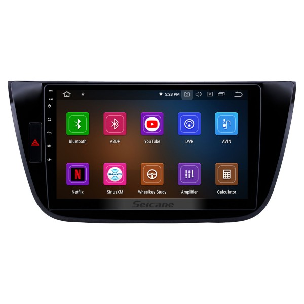 10.1 inch 2017-2018 Changan LingXuan Android 9.0 GPS Navigation Radio Bluetooth HD Touchscreen AUX Carplay support Mirror Link
