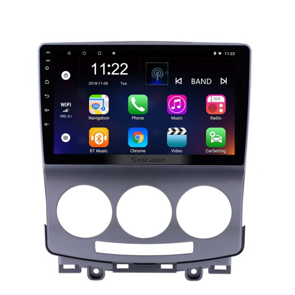 2005-2010 Old Mazda 5 Android 8.1 GPS Navigation Radio 9 inch HD Touchscreen with Bluetooth USB WIFI support Carplay OBD2 DAB+ Mirror Link