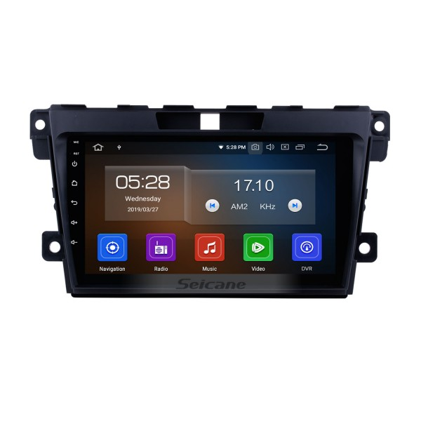 OEM 9 inch Android 9.0 Radio for 2007-2014 MAZDA CX-7 with GPS Navigation Bluetooth USB WIFI Carplay support 1080P OBD2 Steering Wheel Control Rearview DVD Player