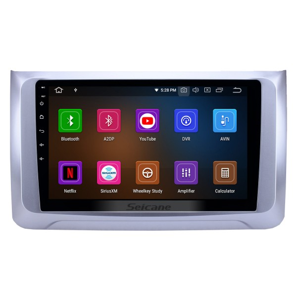 10.1 inch Android 9.0 Radio for 2016-2019 Great Wall Haval H6 Bluetooth HD Touchscreen GPS Navigation Carplay USB support TPMS Backup camera