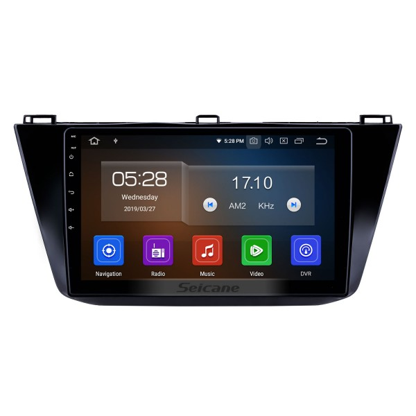 10.1 inch 2016-2018 VW Volkswagen Tiguan Android 10.0 GPS Navigation Radio Bluetooth HD Touchscreen AUX USB Carplay support Mirror Link