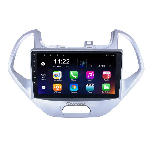 OEM 9 inch Android 10.0 for 2019 Ford Figo Radio with Bluetooth HD Touchscreen GPS Navigation System support Carplay TPMS