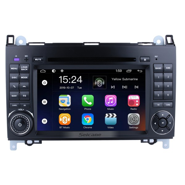 Android 5.1.1 GPS Navigation system for 2001-2008 Mercedes-Benz G-Class W463 with Radio DVD Player Touch Screen Bluetooth WiFi TV IPOD HD 1080P Video Backup Camera steering wheel control USB SD