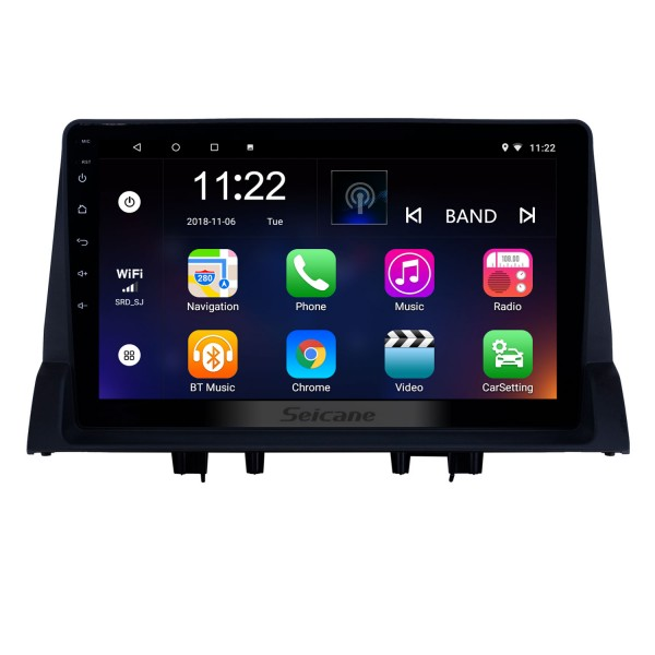 10.1 inch Android 8.1 GPS Navigation Radio for 2002-2008 Old Mazda 6 with HD Touchscreen Bluetooth support Carplay Steering Wheel Control
