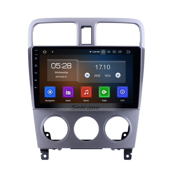 For 2004 2005 2006 2007 2008 Subaru Forester Radio 9 inch Android 10.0 HD Touchscreen Bluetooth with GPS Navigation System Carplay support 1080P