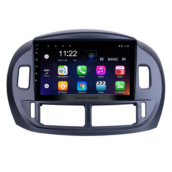 9 inch Android 10.0 for 2004 Toyota Previa Radio GPS Navigation System With HD Touchscreen Bluetooth support Carplay Digital TV