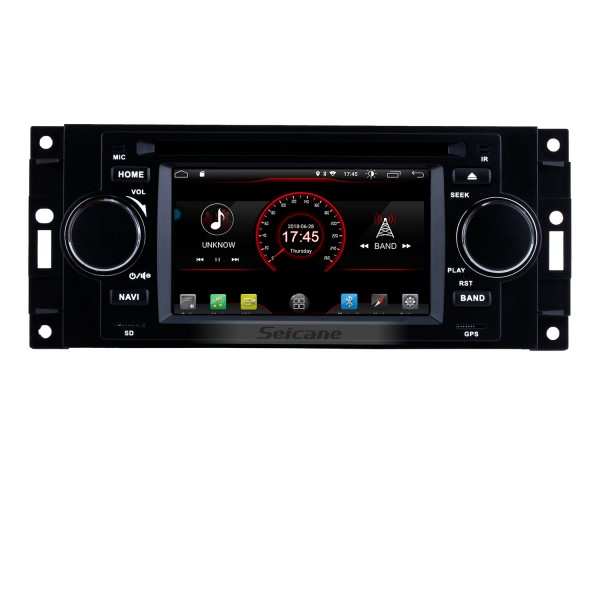 Aftermarket Android 8.1 DVD Player GPS Navigation system for 2002-2007 Dodge Durango Dakota P/U with OBD2 Bluetooth Radio Mirror link Touch Screen DVR Backup camera TV USB SD 1080P Video WIFI Steering Wheel control