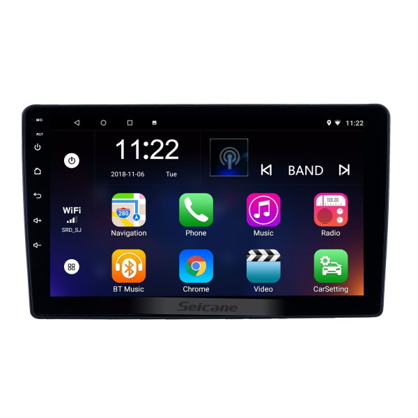 OEM 9 inch Android 8.1 Radio for 2001-2008 Peugeot 307 Bluetooth WIFI HD Touchscreen GPS Navigation support Carplay DVR OBD Rearview camera