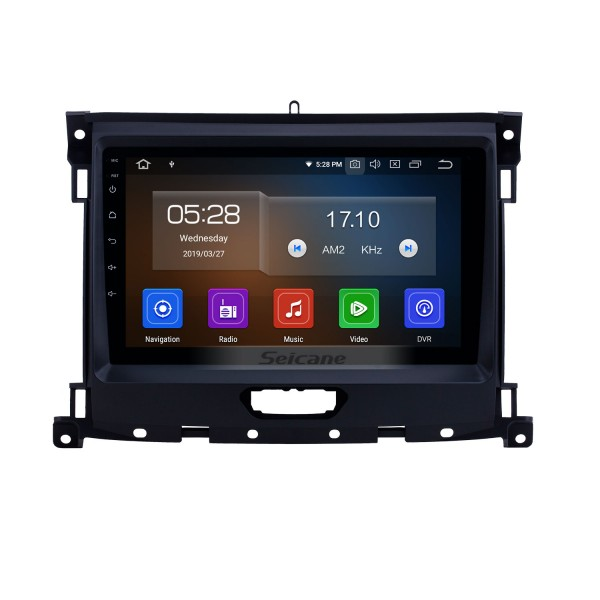 2018 Ford Ranger Android 9.0 9 inch GPS Navigation Radio Bluetooth HD Touchscreen WIFI USB Carplay support DAB+ SWC