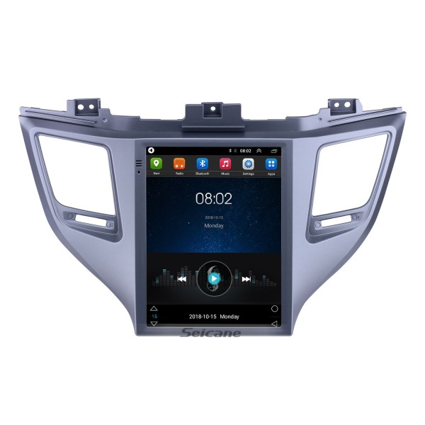 2015 Hyundai Tucson 9.7 inch Android 9.1 GPS Navigation Radio with HD Touchscreen Bluetooth WIFI support Carplay Rear camera