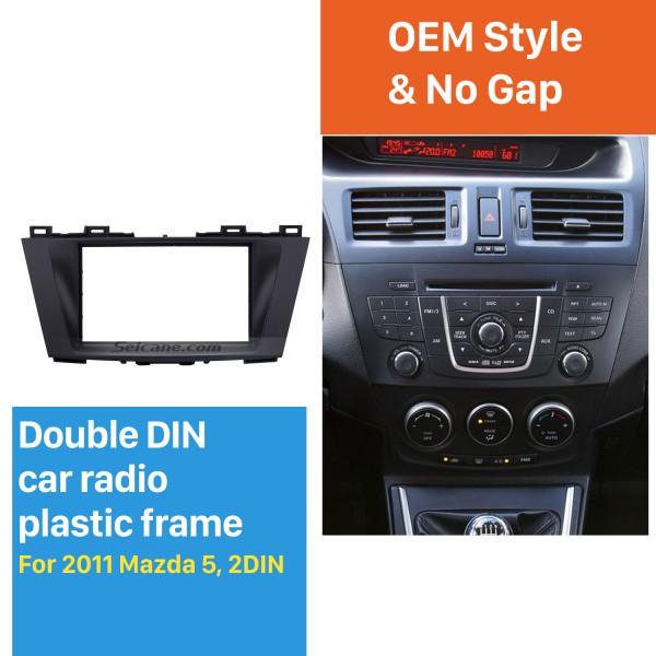 Great Double Din 2011 Mazda 5 Car Radio Fascia Stereo Installation Dash Audio Trim Panel Kit Frame