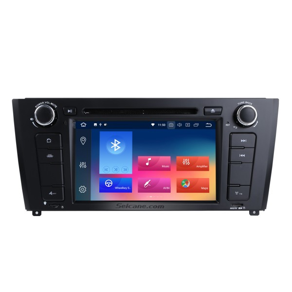 Android 9.0 HD Touchscreen 1024*600 2004-2012 BMW 1 Series E81 E82 116i 118i 120i 130i with Bluetooth Radio DVD Navigation System AUX WIFI Mirror Link OBD2