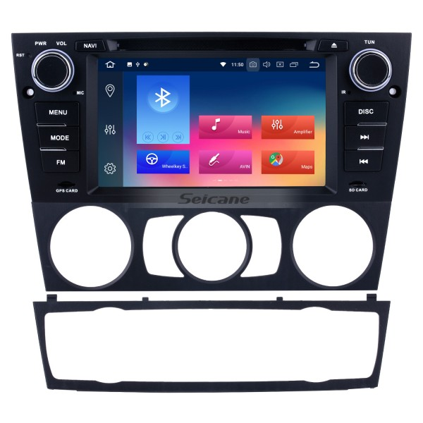 HD 1024*600 Multi-touch Screen 2005-2012 BMW 3 E90 E91 E92 E93 316i 318i 320i 320si 323i 325i 328i 330i 335i 335is M3 316d 318d 320d 325d 330d 335d Radio Removal with Android 9.0 in Dash Sat Nav Car Stereo System 3G WiFi Bluetooth DVD AUX OBD2