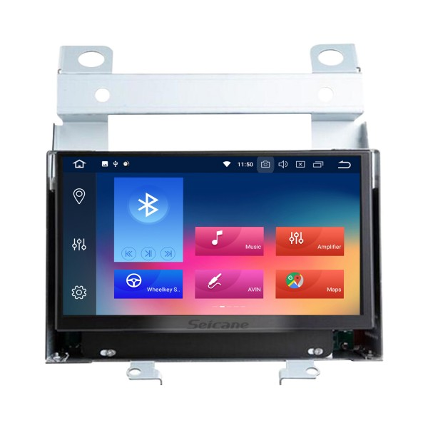 7 inch Android 9.0 GPS Navigation Radio for 2007-2012 Land Rover/Freelander 2 with HD Touchscreen Bluetooth WIFI support Mirror Link OBD2 SWC Carplay