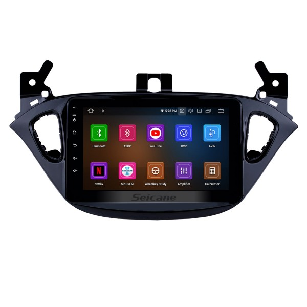 8 inch Android 9.0 2015-2019 Opel Corsa/2013-2016 Opel Adam GPS Navigation Radio with Touchscreen Carplay Bluetooth AUX support OBD2 DVR