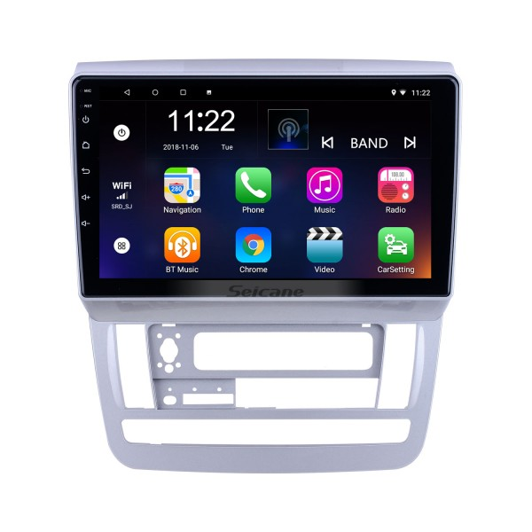 OEM 9 inch Android 10.0 for 2003 2004-2007 Toyota Alphard Low Version RHD Radio with Bluetooth HD Touchscreen GPS Navigation System support Carplay