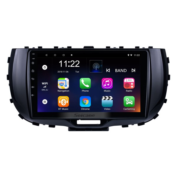 OEM 9 inch Android 10.0 for 2019 Kia Soul Radio with Bluetooth HD Touchscreen GPS Navigation System support Carplay