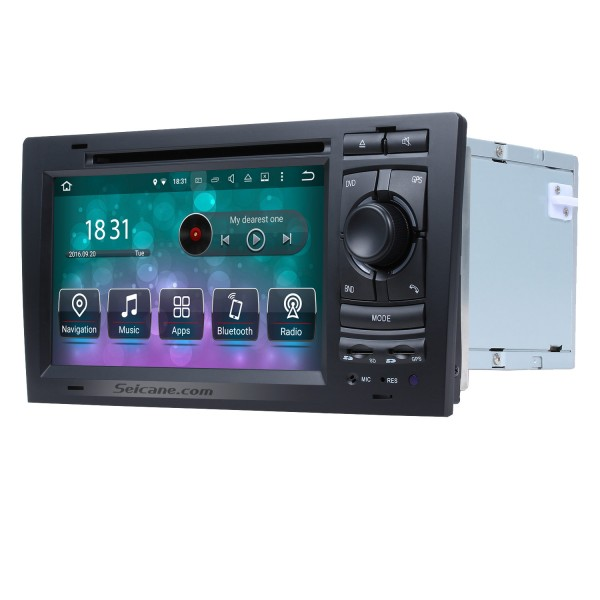 Android 8.0 DVD Player GPS Navigation system for 1994-2003 Audi A8 S8  with HD 1080P Video Bluetooth Touch Screen Radio WiFi TV Backup Camera steering wheel control USB SD