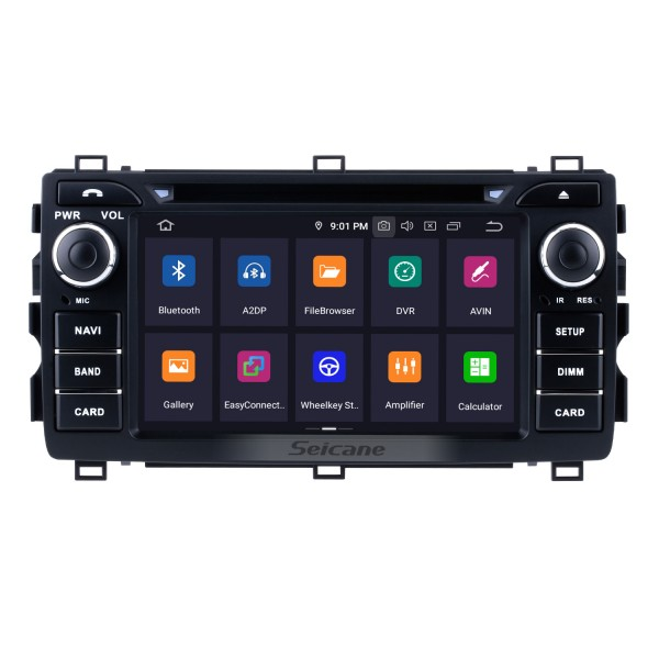 Android 5.1.1 Radio GPS for 2013 Toyota Auris with Navigation System WIFI OBD2 Bluetooth HD 1024*600 Touch Screen DVR TV Video Steering Wheel control Backup Camera
