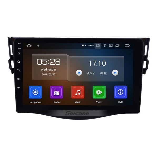 9 inch Touchscreen Radio for 2007-2011 Toyota RAV4 Android 10.0 GPS Navigation System Bluetooth OBDII DVR Backup Camera WIFI Mirror link 1080P video