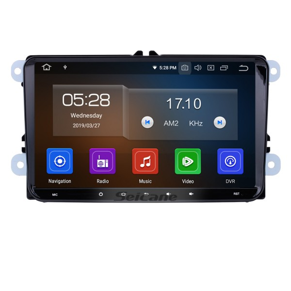 9 inch Android 9.0 In Dash Bluetooth GPS System for 2004-2011 VW Volkswagen Sagitar PASSAT with 3G WiFi Radio RDS Mirror Link OBD2 Rearview Camera AUX