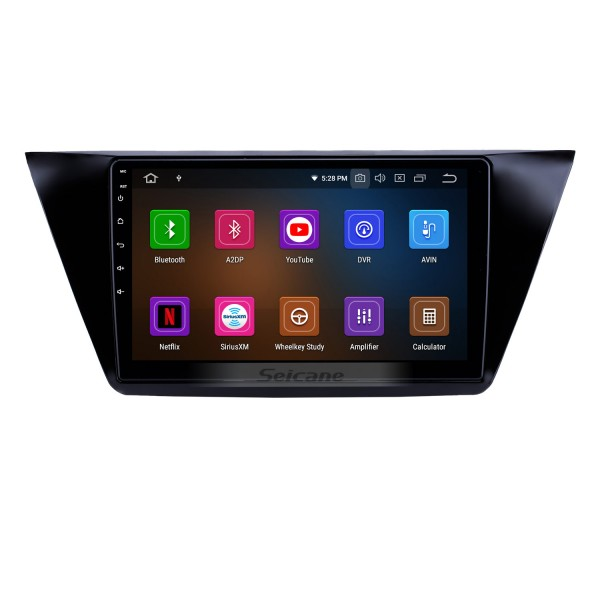 10.1 inch Android 9.0 Radio for 2016-2018 VW Volkswagen Touran Bluetooth HD Touchscreen GPS Navigation Carplay USB support OBD2 Backup camera