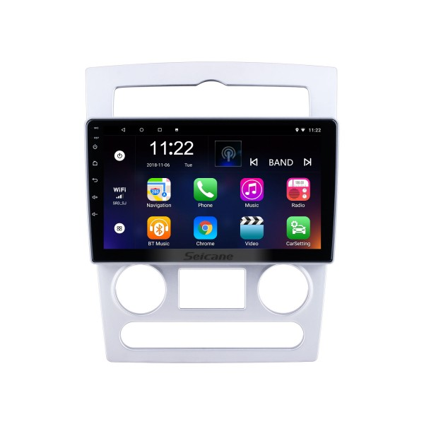 Android 10.0 HD Touchscreen 9 inch for 2004 2005 2006 Hyundai Rohens Coupe Radio GPS Navigation System with Bluetooth support Carplay