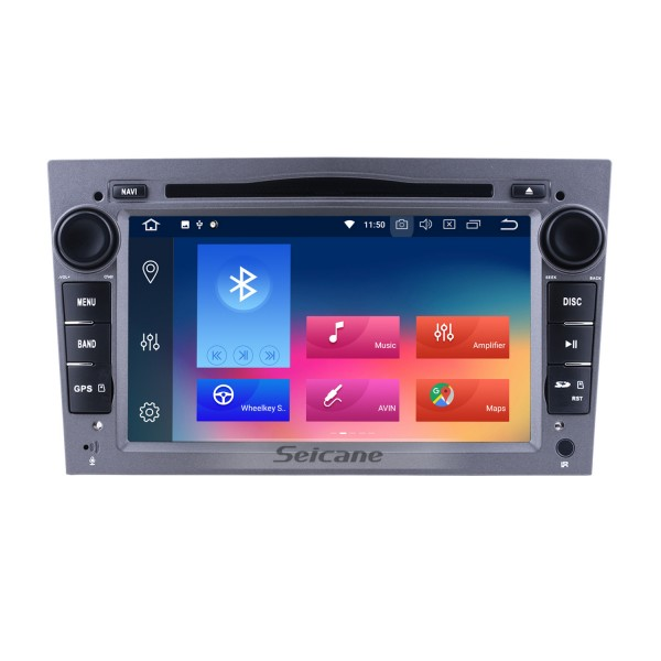 7 inch Android 9.0 2005-2012 Opel Antara HD 1024*600 Touch Screen in Dash GPS Radio Bluetooth System with CD DVD Player 3G WiFi 1080P Steering Wheel Control AUX Mirror Link OBD2 1080P