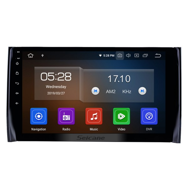 10.1 inch Android 9.0 GPS Navigation Radio for 2017-2018 Skoda Diack Bluetooth HD Touchscreen Carplay USB support DAB+ TPMS