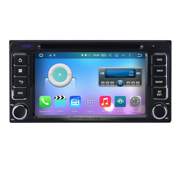 Android 6.0 Aftermarket Car Radio GPS Navigation System for 2001-2008 TOYOTA RAV4 with DVD Player Bluetooth WiFi Mirror Link Steering Wheel Control 1080P Video