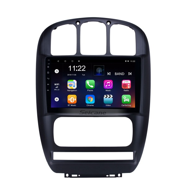 10.1 inch GPS Navigation Radio Android 10.0 for 2006-2012 Chrysler Pacifica With HD Touchscreen Bluetooth support Carplay Backup camera
