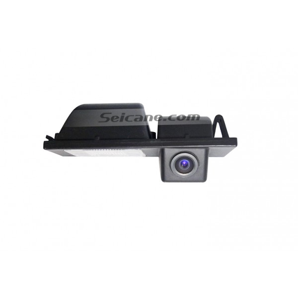 170° HD Waterproof Blue Ruler Night Vision Car Rear View Camera for Cadillac CTS free shipping