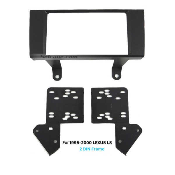 Fashionable 2Din 1995-2000 LEXUS LS Car Radio Fascia Auto Stereo Adaptor Trim frame Installation Kit Dashboard Panel