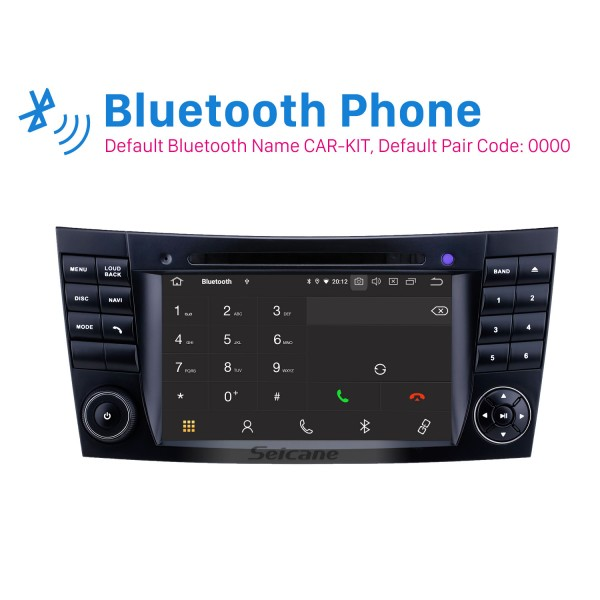 7 inch 2001-2008 Mercedes Benz G-Class W463 Touchscreen Android 10.0 GPS Navigation Radio Bluetooth Carplay USB support SWC TPMS Rearview camera