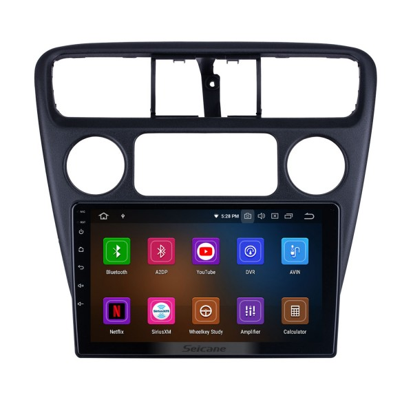 For 2001 Honda Accord Radio Android 10.0 HD Touchscreen 9 inch Bluetooth with GPS Navigation System Carplay support TPMS