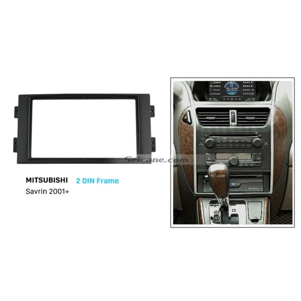 Fantastic Double Din 2001+ Mitsubishi Savrin Car Radio Fascia Dash CD Trim Installation Frame Kit Dashboard Panel Auto Stereo