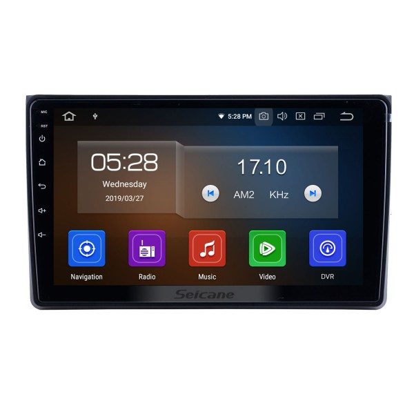 Android 10.0 for 2002-2006 2007 2008 Audi A4 Radio 9 inch GPS Navigation with HD Touchscreen Carplay Bluetooth support Digital TV