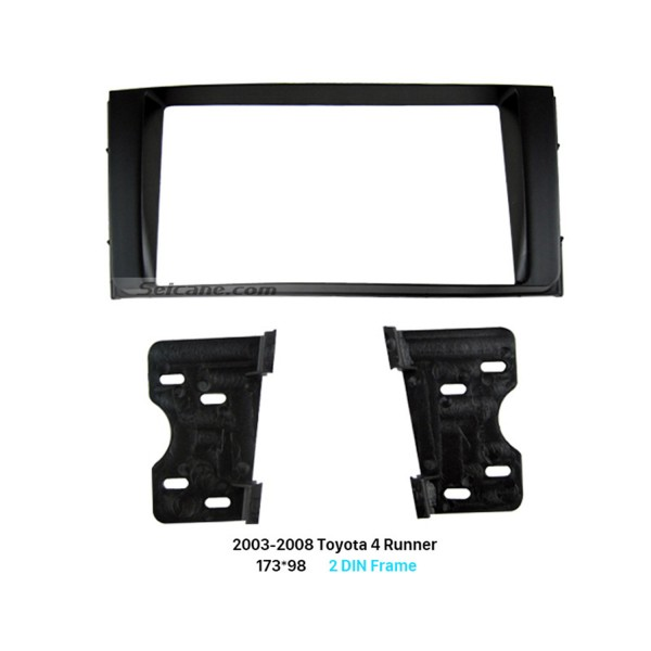 173*98mm Double Din 2003-2008 Toyota 4 Runner Car Radio Fascia Dash Mount frame Kit DVD Panel Audio Player