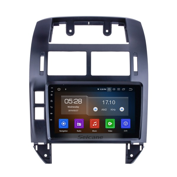Android 10.0 For 2004-2009 2010 2011 VW Volkswagen Polo Radio 9 inch GPS Navigation System Bluetooth HD Touchscreen Carplay support DVR