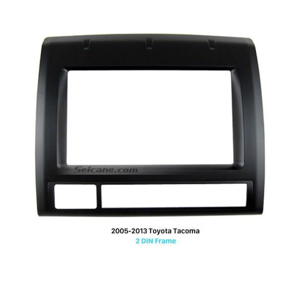 Professional Double Din 2005-2013 Toyota Tacoma Car Radio Fascia Dash CD Frame Panel Audio Fitting Adaptor