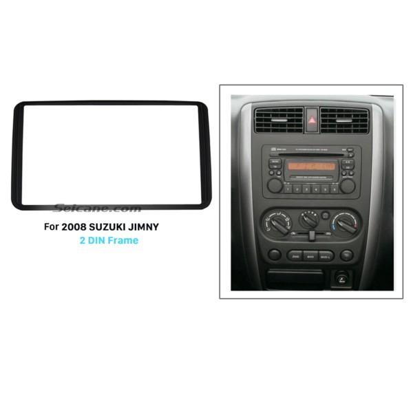 173*98mm Double Din 2008 SUZUKI JIMNY Car Radio Fascia Audio Frame Dashboard Panel Trim Bezel