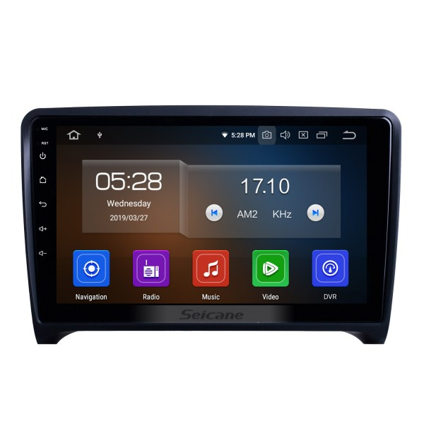OEM 9 inch Android 10.0 for 2006-2011 2012 2013 Audi TT Radio with Bluetooth WIFI HD Touchscreen GPS Navigation System Carplay support DSP