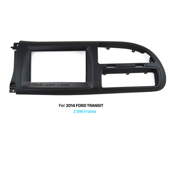 2Din Car Radio Fascia for 2006-2013 Ford Transit Panel Plate Frame Trim Bezel DVD Player