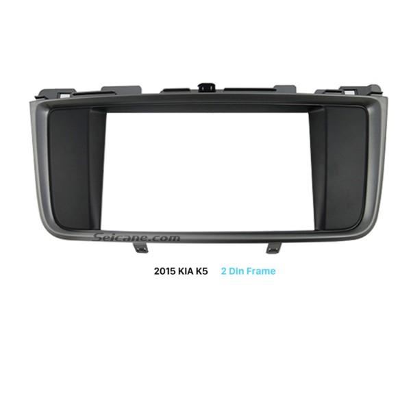 178*100mm 2Din 2015 KIA K5 Car Radio Fascia Installation Kit CD Trim Surround Panel DVD Frame