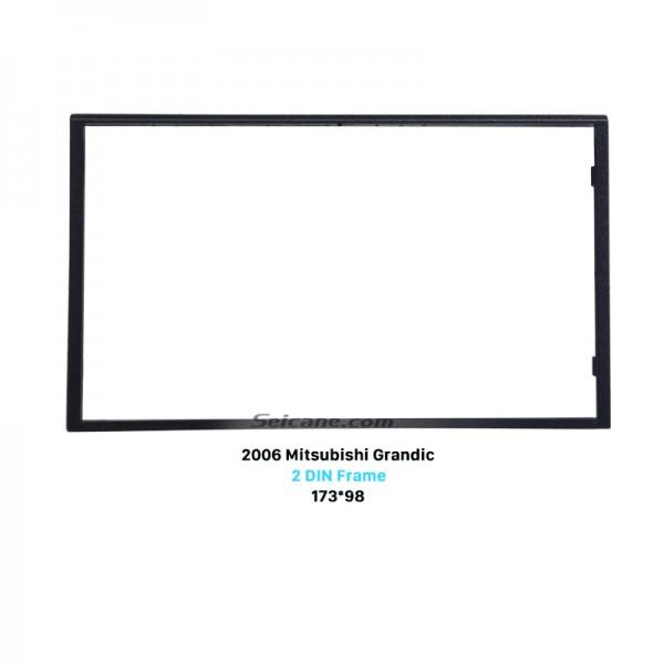 Fantastic 2Din 2006 Mitsubishi Grandic Car Radio Fascia Auto Stereo Installation Panel Plate Frame Trim Bezel