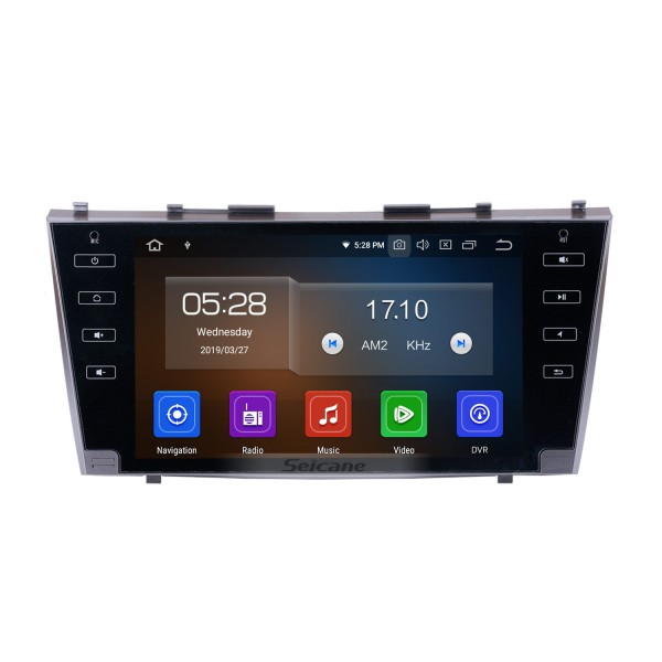 OEM 2007 2008 2009 2010 2011 TOYOTA CAMRY Android 10.0 9 inch HD Touchscreen GPS Navigation Radio Support Backup Camera Steering Wheel Control USB DVR TPMS