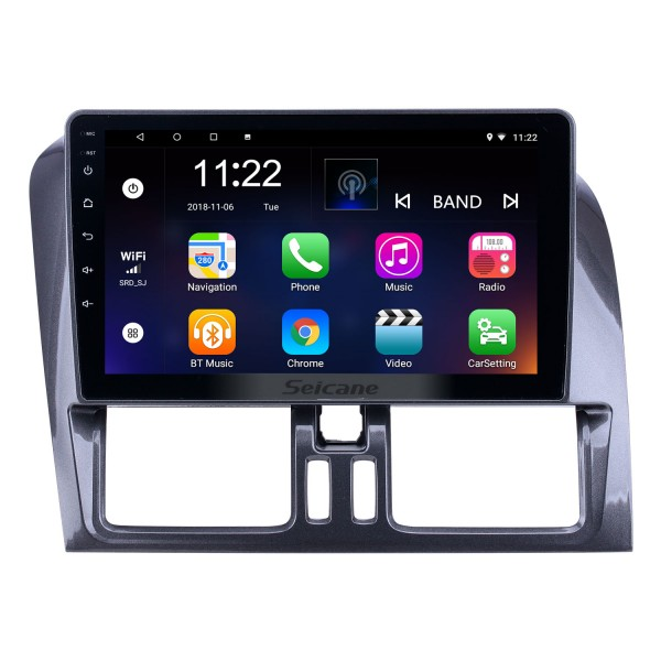 HD Touchscreen 9 inch for 2008 2009 2010-2016 Volvo XC60 Radio Android 10.0 GPS Navigation with Bluetooth support Carplay Rear camera