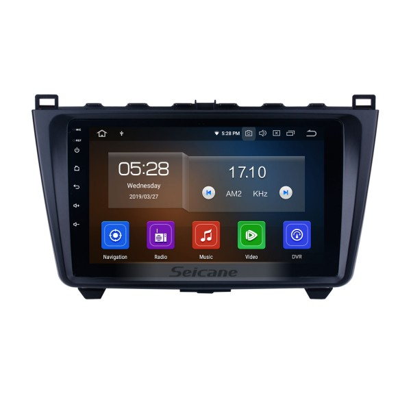 9 inch Radio GPS Navigation Android 10.0 for 2008-2015 MAZDA 6 Ruiyi/ Ultra with Bluetooth Audio system 3G WIFI USB 1080P Mirror Link support OBD2 CD DVD Player