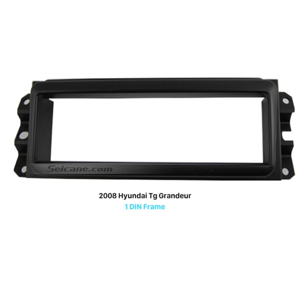 Delicate 1Din 2008 HYUNDAI TG GRANDEUR Car Radio Fascia Audio Cover In Dash Mount Kit Stereo Install Frame