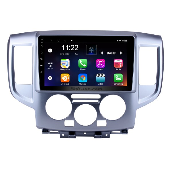 9 Inch Android 10.0 HD 1024*600 Touchscreen Radio For 2009-2016 NISSAN NV200 GPS Navigation Car Stereo Bluetooth Support Mirror Link OBD2 AUX 3G WiFi DVR 1080P Video Steering Wheel Control